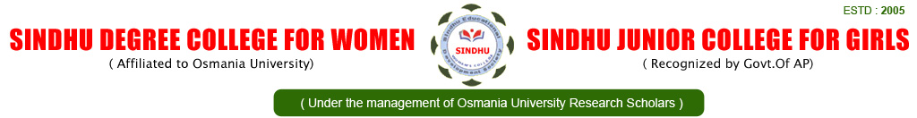 SINDHU DEGREE COLLEGE FOR WOMEN | COLLEGES IN MEHEDIPATNAM